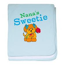 Nanas Sweetie baby blanket