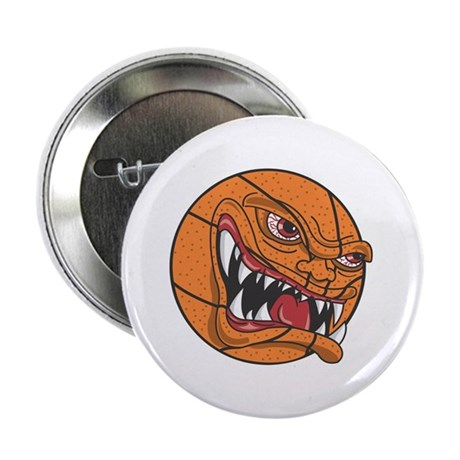 """Angry Basketball 2.25"""" Button (10 pack)"""