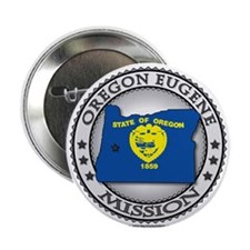 Oregon Eugene LDS Mission State Flag Cutout Gifts