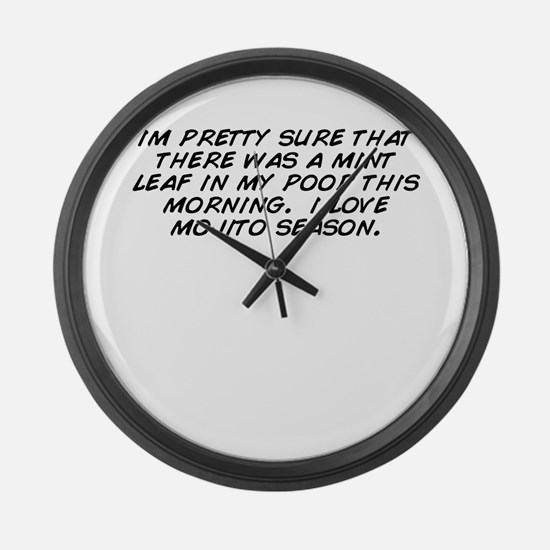 Im pretty Large Wall Clock