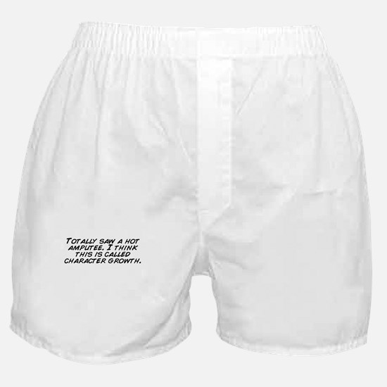 Funny Amputee Boxer Shorts