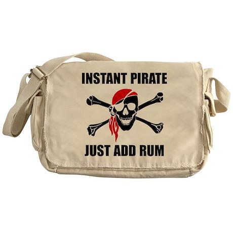Instant Pirate Messenger Bag