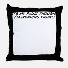 Tights Throw Pillow