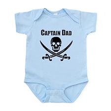 Captain Dad Body Suit