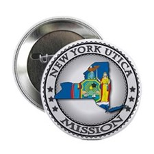 New York Utica LDS Mission State Flag Cutout Gift