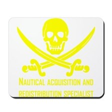 Nautical Acquisition Specialist Mousepad