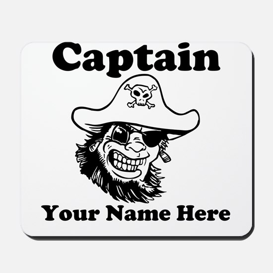 Custom Captain Pirate Mousepad