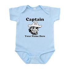 Custom Captain Pirate Body Suit