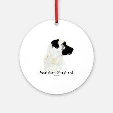 Anatolian Charcoal Ornament (Round)