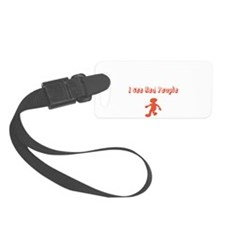 I see Red People Luggage Tag