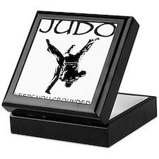 Judo keeps you grounded Keepsake Box