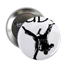 """Judo keeps you grounded 2.25"""" Button"""