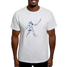 Blue Muskateer Pirate T-Shirt