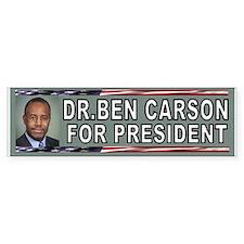 DR.CARSON BUMPER Bumper Bumper Sticker