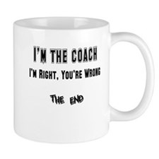 coach right,wrong copy Mugs