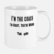 coach right,wrong copy Mugs