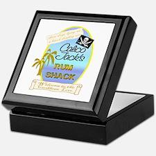 Funny Carribean Keepsake Box