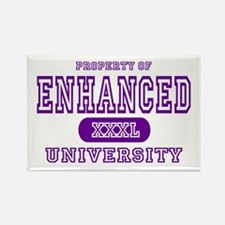 Enhanced University Rectangle Magnet