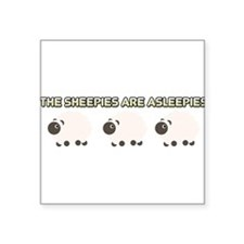 The Sheepies Are Asleepies Sticker