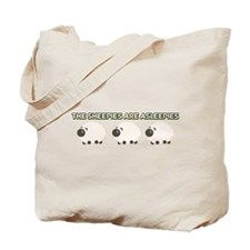 The Sheepies Are Asleepies Tote Bag
