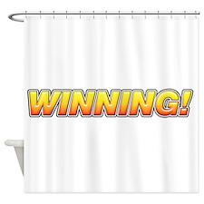 Winning! Shower Curtain