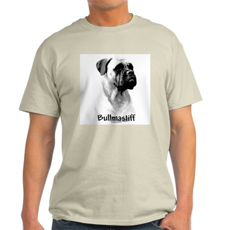 Bullmastiff Charcoal Ash Grey T-Shirt
