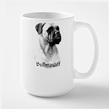 Bullmastiff Charcoal Mug