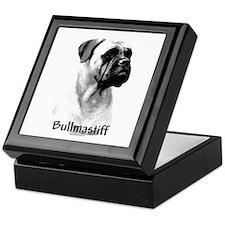 Bullmastiff Charcoal Keepsake Box