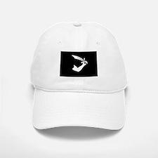 Black Pirate Sword Flag Baseball Baseball Baseball Cap