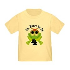 4th Birthday Frog T