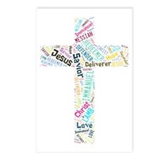 Names of Jesus Postcards (Package of 8)