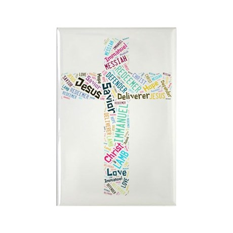 Names of Jesus Rectangle Magnet (100 pack)
