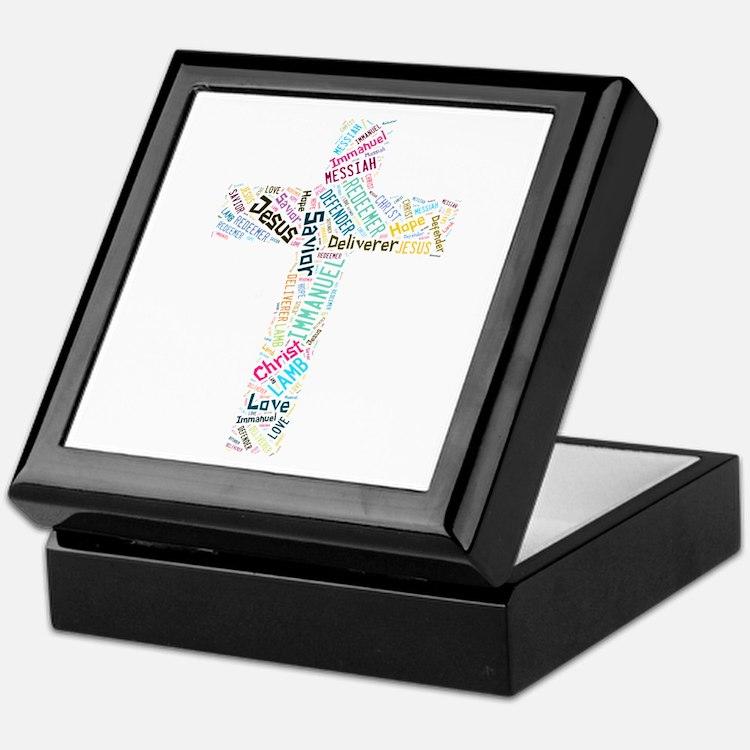 Names of Jesus Keepsake Box
