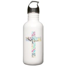 Names of Jesus Water Bottle
