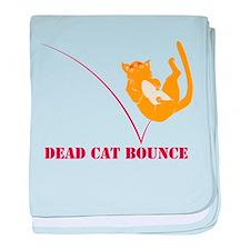 Dead Cat Bounce baby blanket