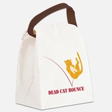 Dead Cat Bounce Canvas Lunch Bag