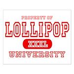 Lillipop University Small Poster