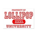 Lillipop University Mini Poster Print