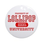 Lillipop University Ornament (Round)