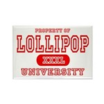 Lillipop University Rectangle Magnet