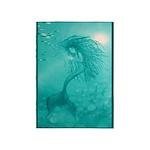 Aqua Mermaid 5'x7'Area Rug