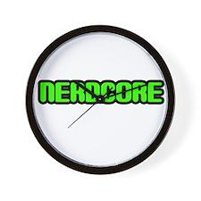 Nerdcore Wall Clock