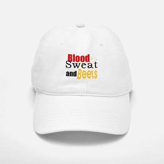 Blood, Sweet and Beers Baseball Baseball Cap