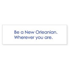 New Orleans Bumper Car Sticker