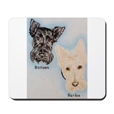Buttons and Baylee Mousepad