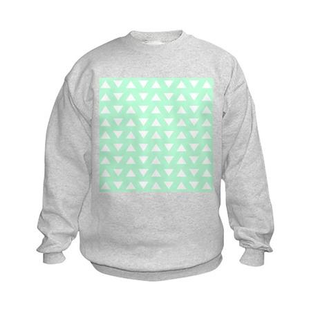 Mint Green Pattern. Sweatshirt