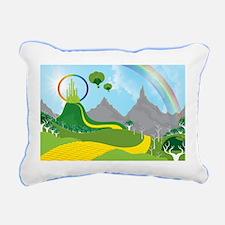 The Land of Oz Rectangular Canvas Pillow