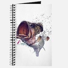 Bass breaking through shirt Journal