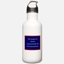 First Amendment Water Bottle