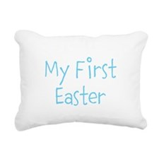 My First Easter Rectangular Canvas Pillow